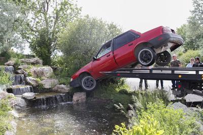 WSF car fountain