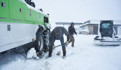 Gibson's Towing Snow
