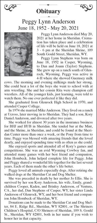 Peggy Lynn Anderson
