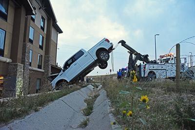 Hampton Inn Ford Crash