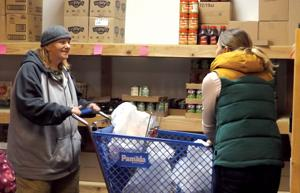 Food pantries see growing number of families in need of food, warmth
