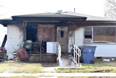 Fire damages home over weekend