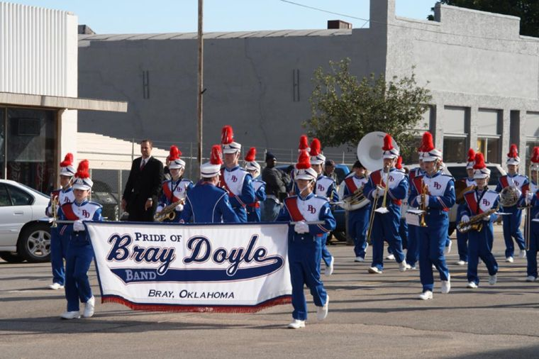 Marching Bray-Doyle