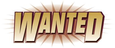"""Word sign """"wanted"""""""