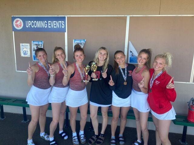 Duncan Girls Tennis