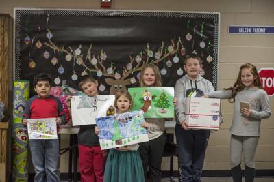 Horace Mann Elementary spreads service around the globe