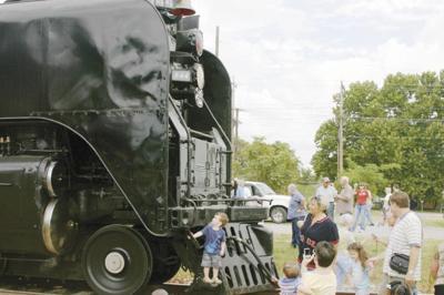 Rocket train makes final run