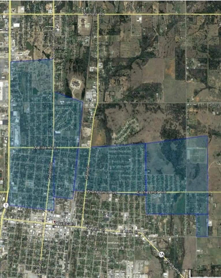 City of Duncan first planned power outage for Feb. 16