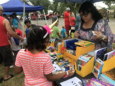 Fiesta in Fuqua 2019 -- school supplies