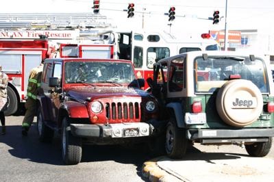 A M  UPDATE: Accident slows traffic on Hwy 81, one sent to hospital