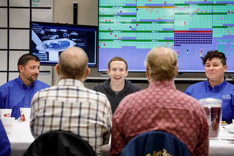 Zuckerberg visits NextEra
