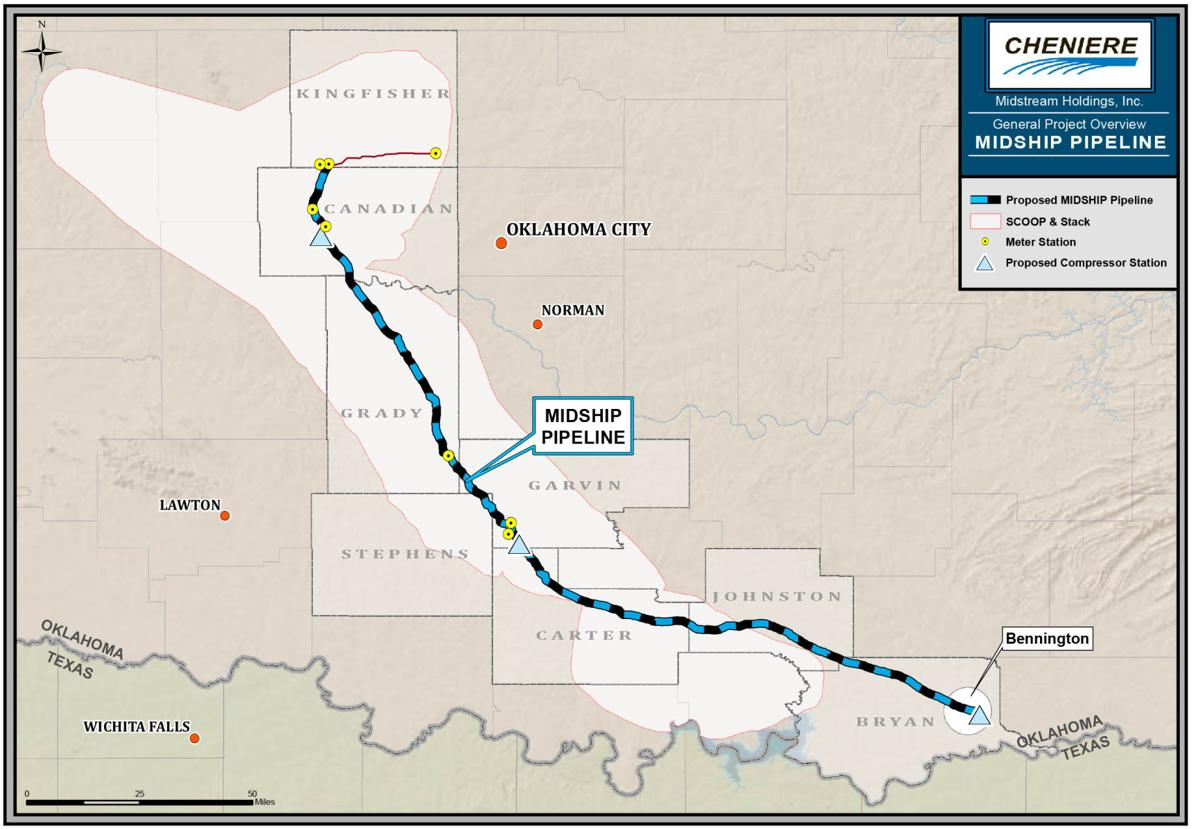 Pipeline could cross Stephens, 7 other counties | News ...