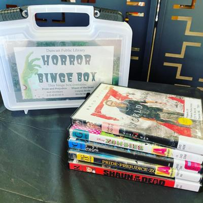 Duncan Public Library to stock 'Binge Boxes' for movie nights
