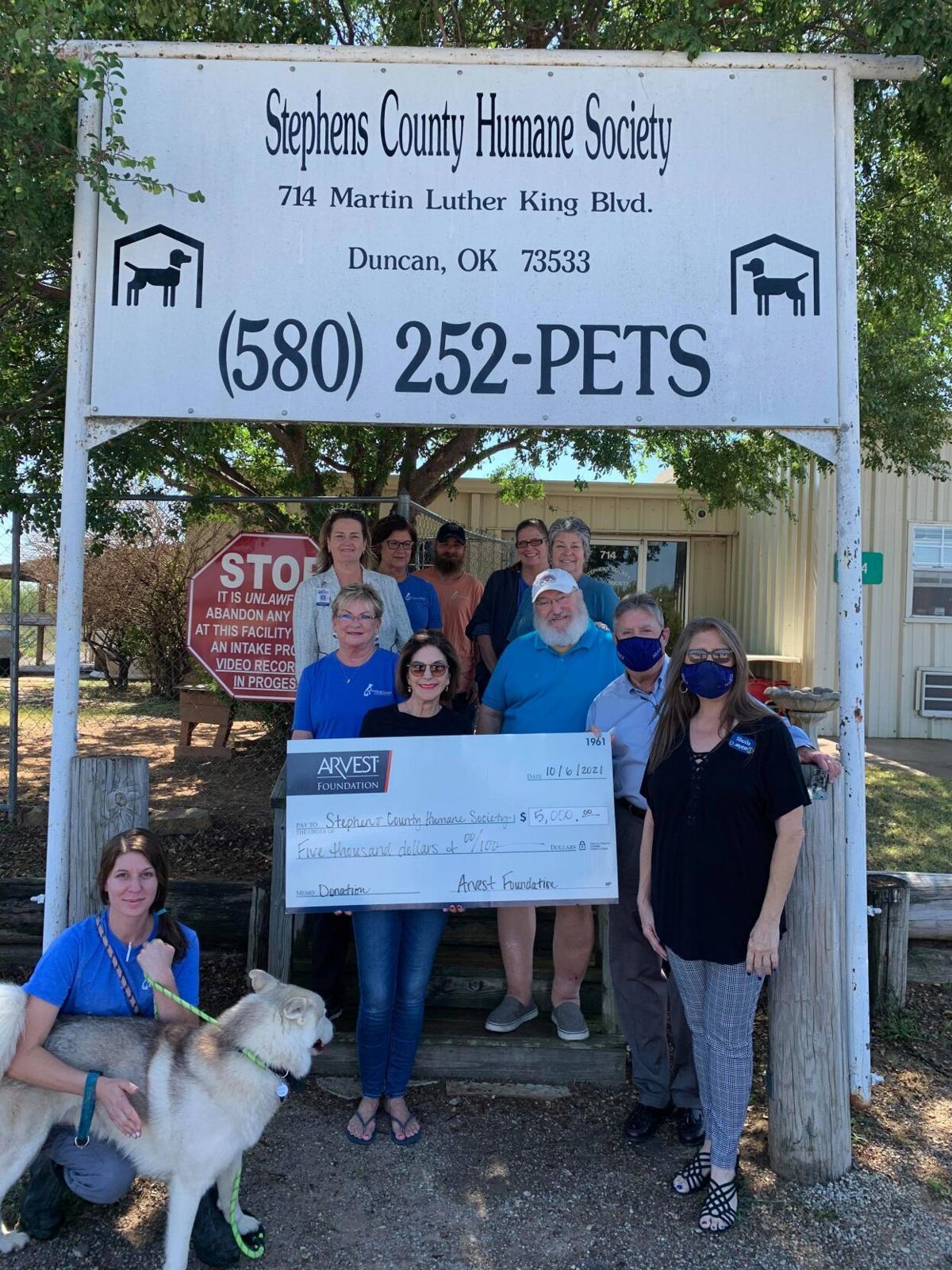 SCHS donation photo