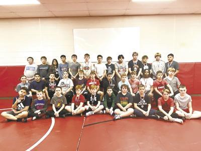 Duncan Middle School wrestling