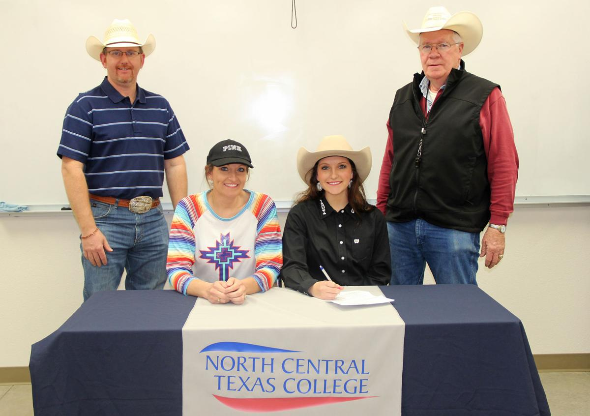 Velma Alma High School Senior Signs With North Central