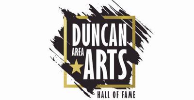 Duncan Arts Hall of Fame logo
