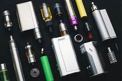 E-cigaretts, vaping devices