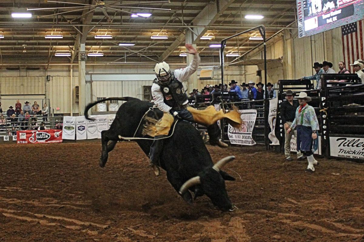 PRCA 2018 Trevor Kastner Bull Rider