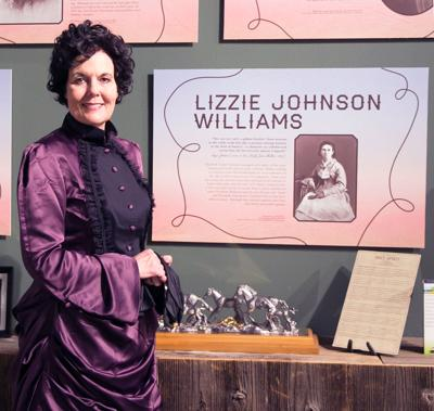 September's Lunch and Learn at CTHC: Edie Stewart as Lizzie Johnson