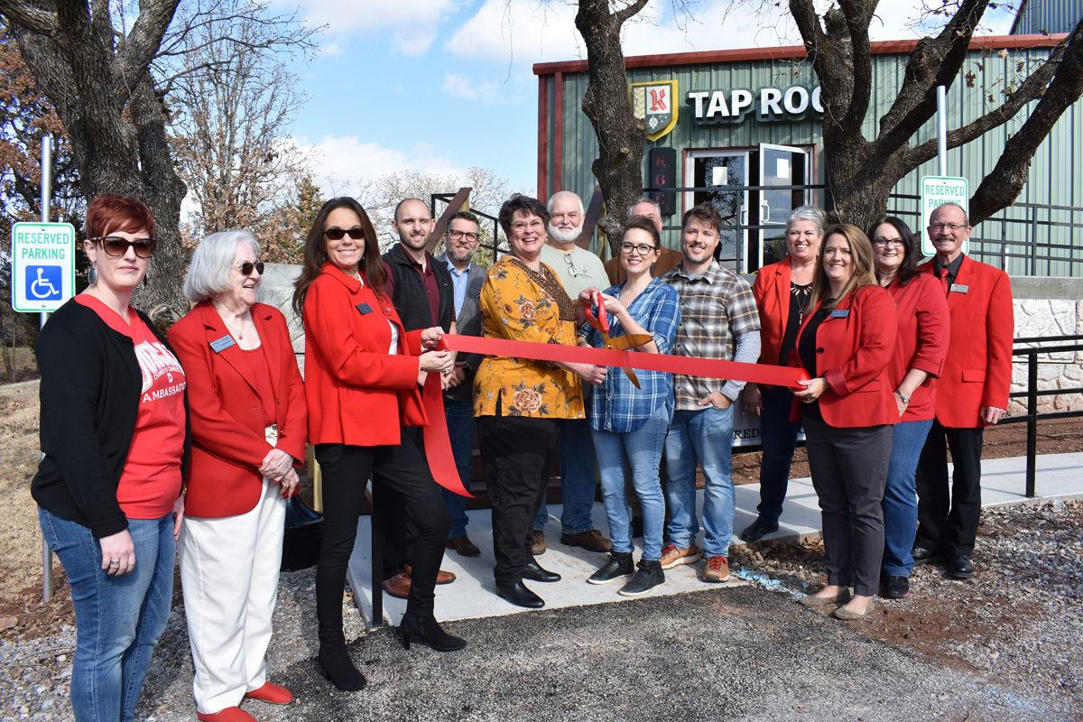 Kochendorfer Brewing ribbon cutting