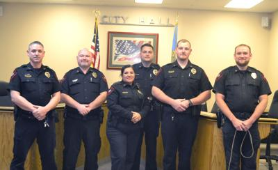 Comanche Police Department gets 'pinned' | News