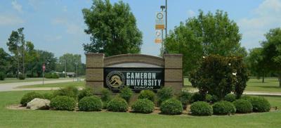 Cameron University sign