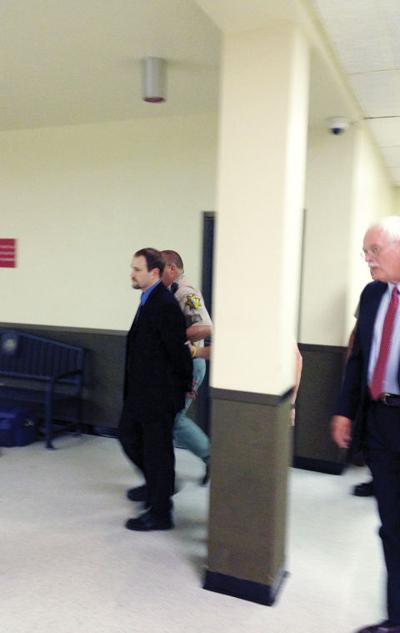 Charles Alan Dyer is escorted out of the courtroom