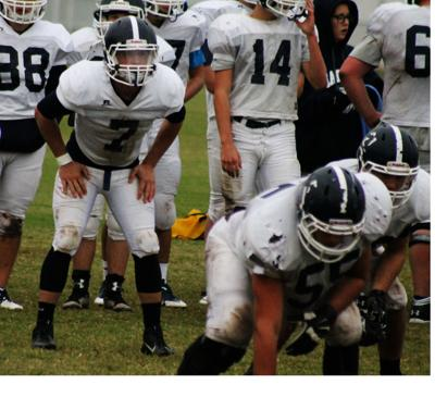 Nick Yates practicing again for Marlow football team