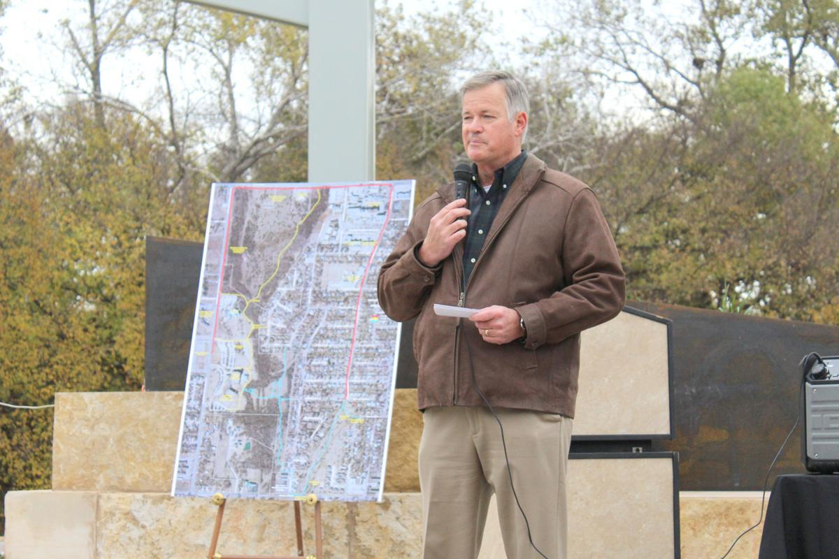 Scott Stone with Trails map