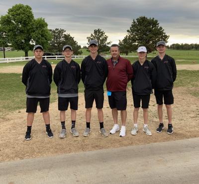 Velma-Alma Golf team