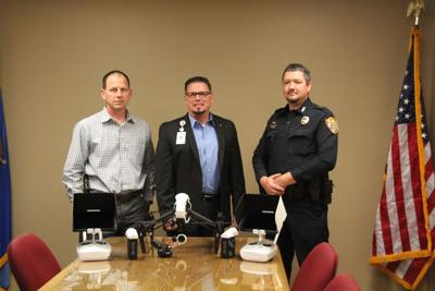 DPD begins new UAS Drone program
