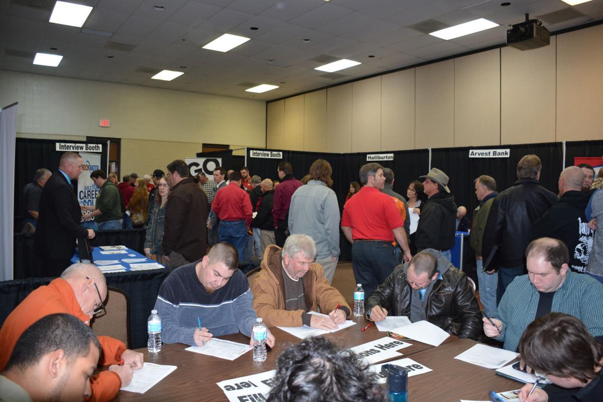 Weekend job fair drew huge numbers | News | duncanbanner com