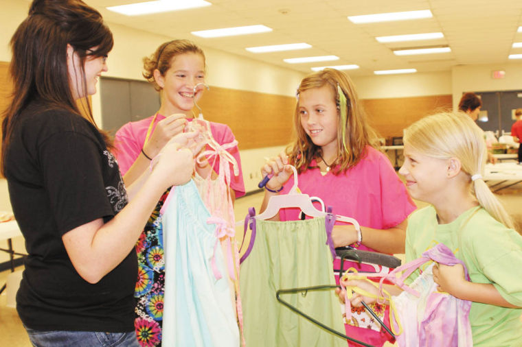Pillowcase Dresses For Africa Classy Youth Use Sewing Skills For 'Dresses For Africa' Project