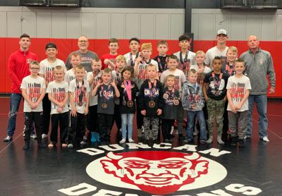Duncan youth wrestlers