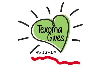 Texoma Gives logos