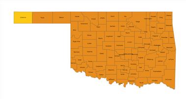screenshot from OSDH map
