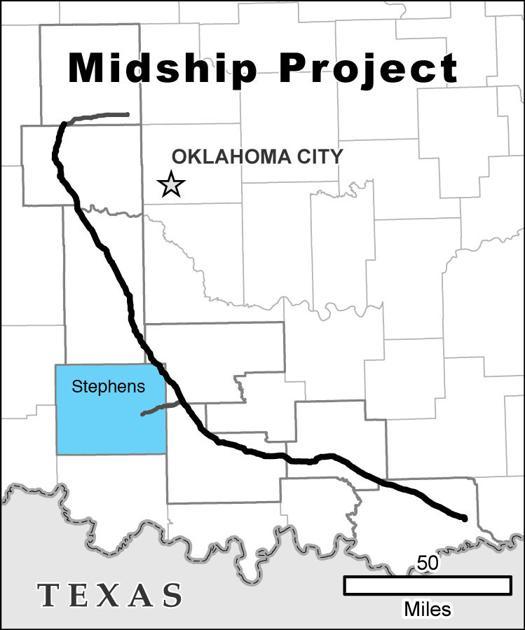 Paperwork for proposed pipeline filed | News | duncanbanner.com