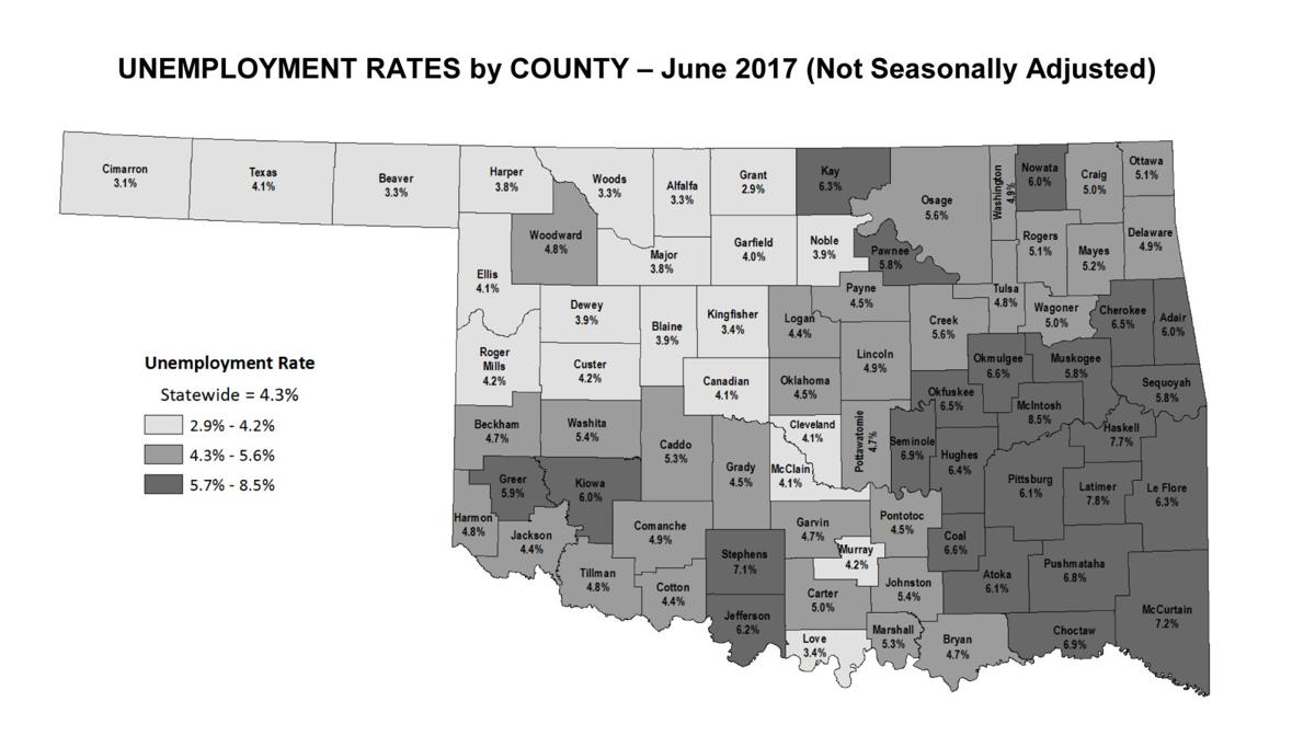 Stephens County Unemployment Rates Down From A Year Ago News - Us counties with highest unemployment rate