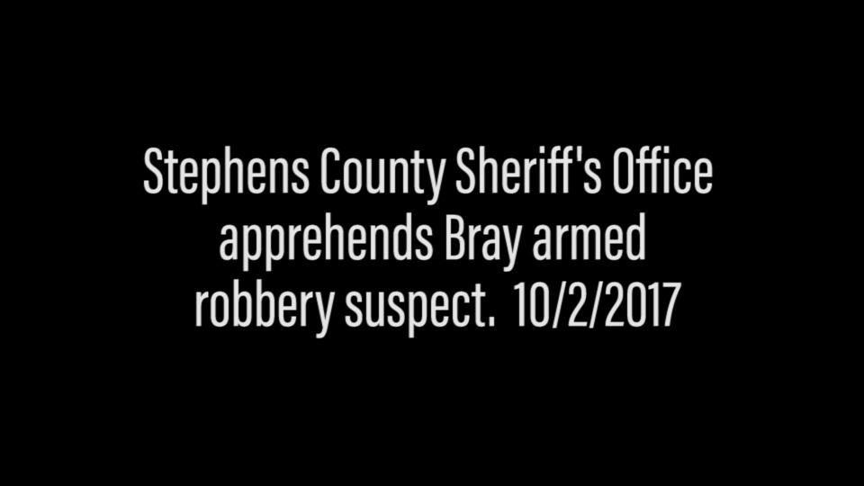 Video: Stephens County Sheriff's Department takes suspect into custody