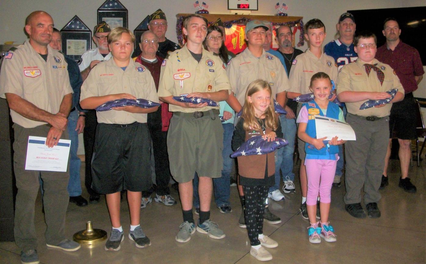 VFW hosts flag retirement ceremony