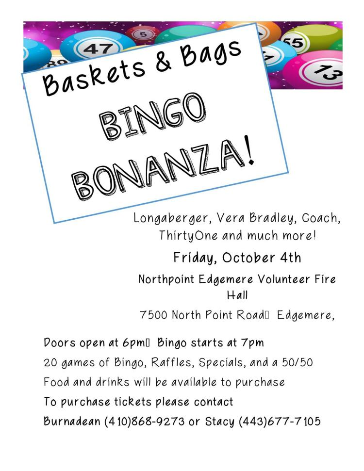 Baskets and Bags Bingo Bonanza