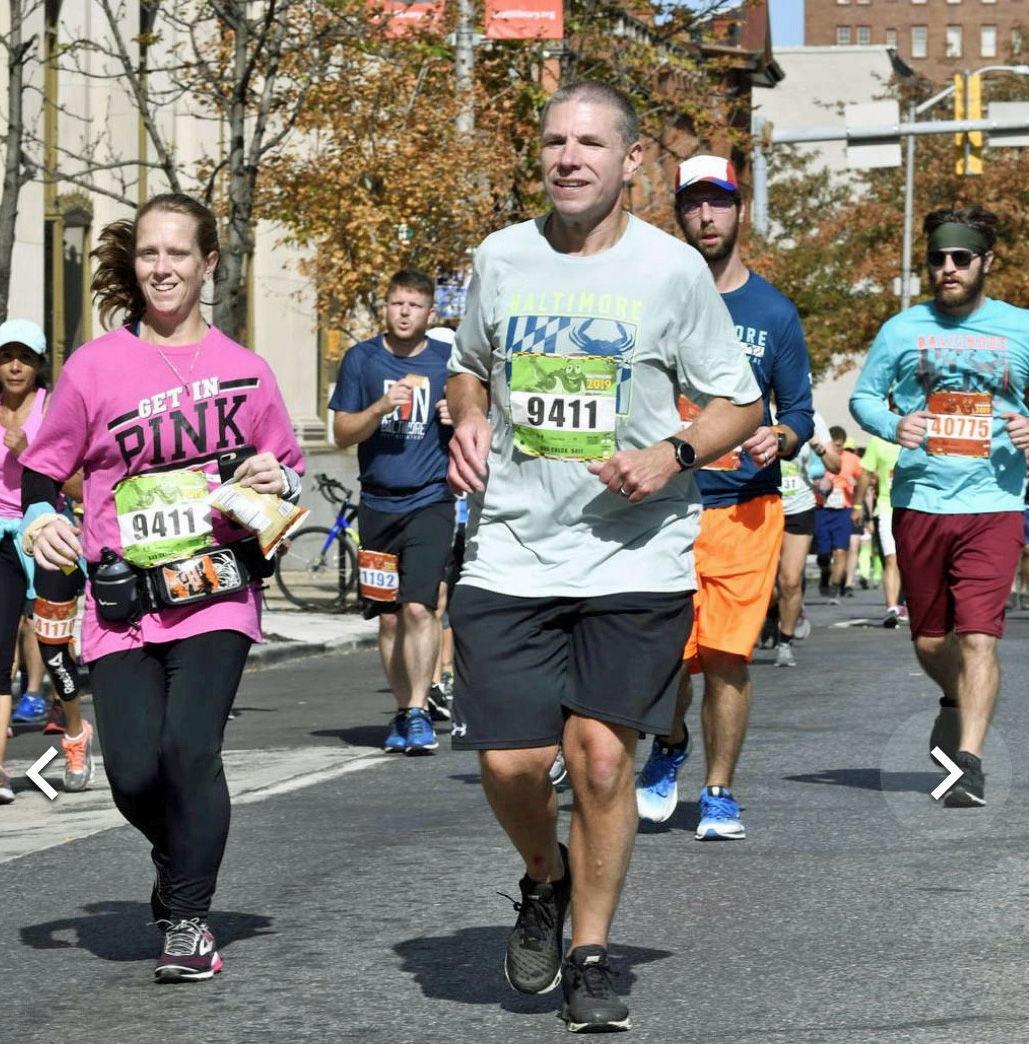 Kim Morrison running