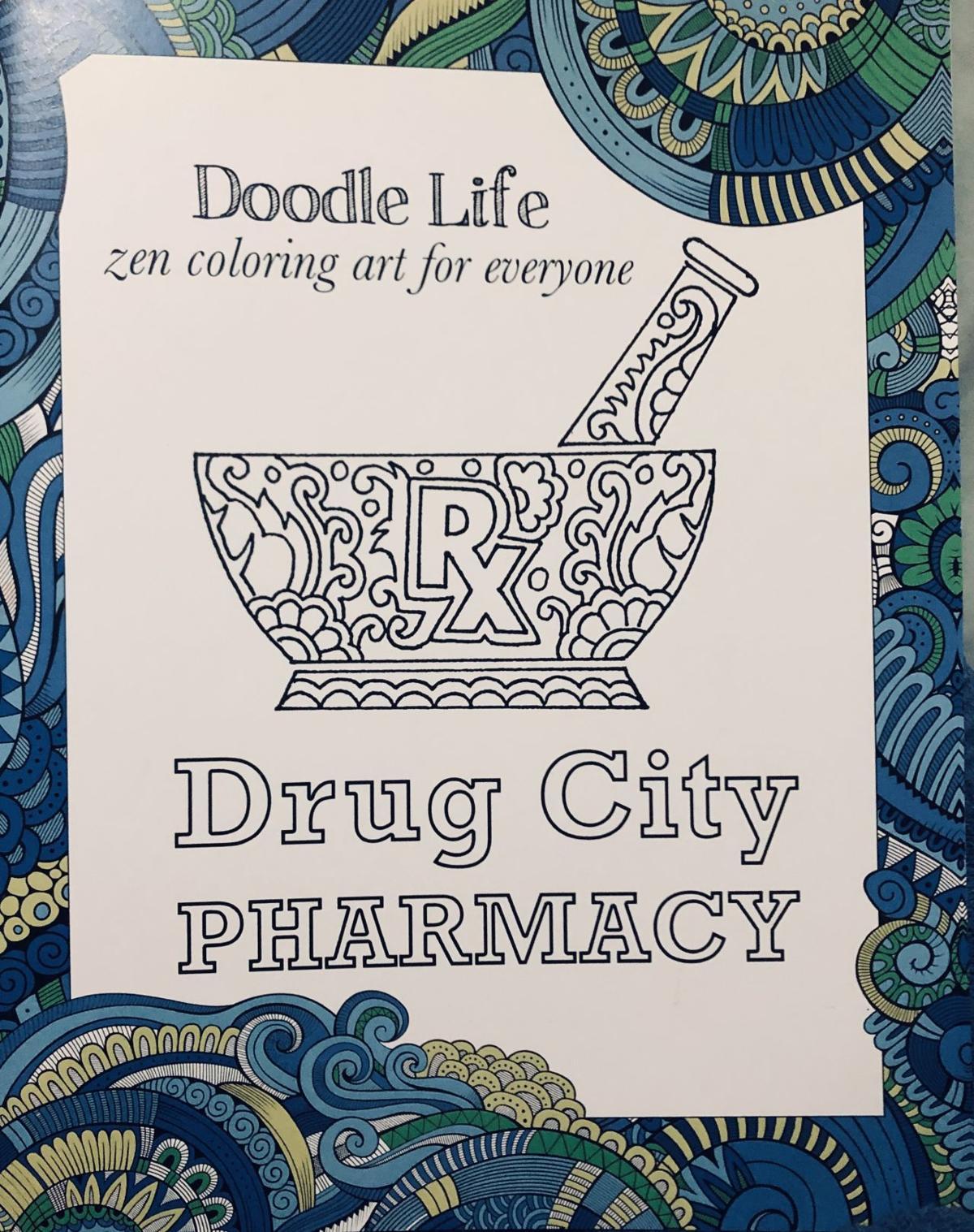 Eagle Staff: Fotis\'s Dundalk coloring book is a gem | Local News ...