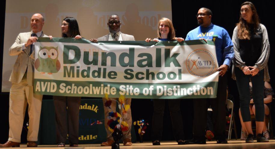 Dundalk Middle named AVID Schoolwide Site of Distinction ...