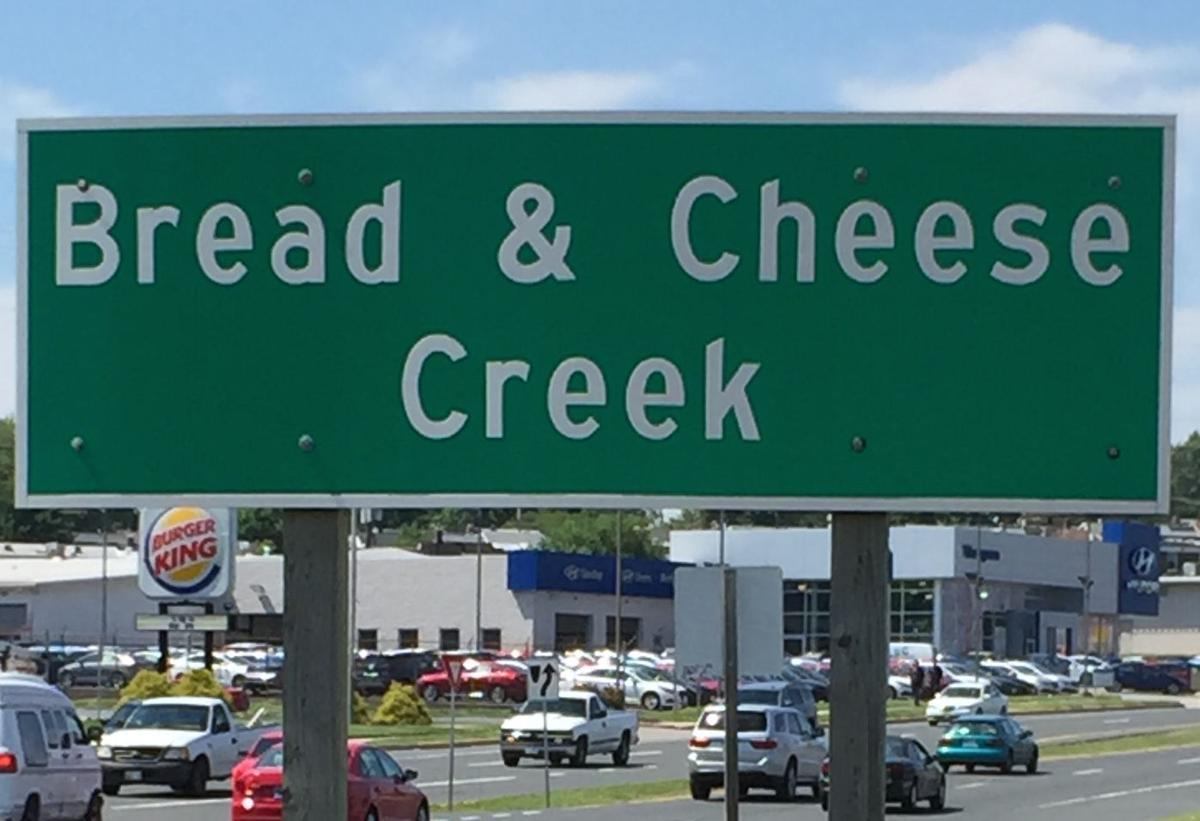 What's up with Bread and Cheese Creek?