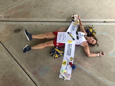 Local runner finally gets to compete in Boston Marathon