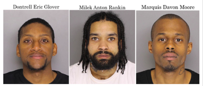 Three arrested for dozens of robberies | Police and Court