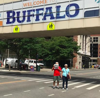 Eagle in Buffalo