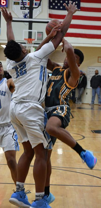 Michael Brown fouled